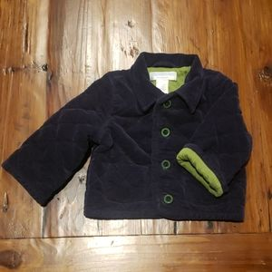 Janie and jack infant boys quilted jacket 0-6 mths
